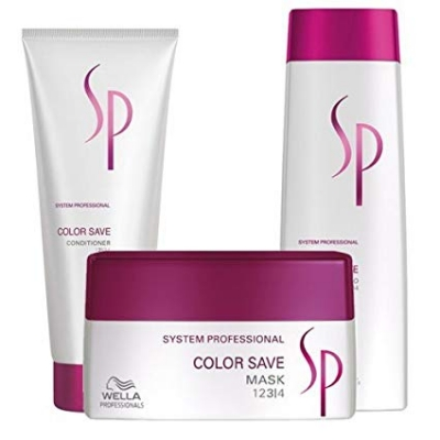 Wella sp color save kit shampoo 250 ml + conditioner 200 ml + mask 200 ml