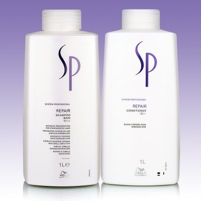 Wella sp System Professional Repair kit shampoo 1000 ml + conditioner 1000ml